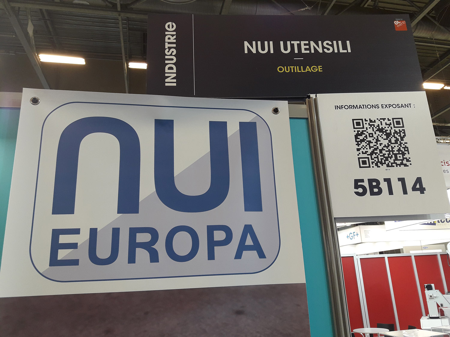 Nui Utensili Europa Cutting Tools Industrie Paris Drilling